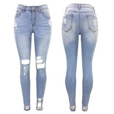 b8c8203e94a609 Women's Stretch Washed Denim