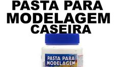 PASTA PARA MODELAGEM CASEIRO Diy Arts And Crafts, Glass Bottles, Stencils, Youtube, How To Make, Handmade, Biscuit, Super Cola, Formulas