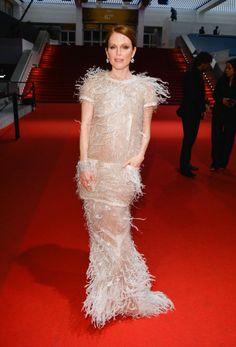 The absolute best of Cannes red carpet fashion: Julianne Moore in Chanel in 2014.