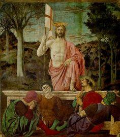 1463 Piero della Francesca, The Resurrection fresco, Pinacoteca Comunale, Sansepolcro