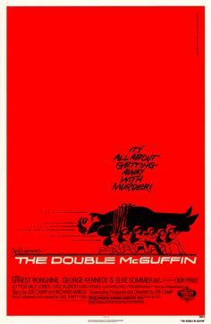 The Double McGuffin poster, 1979 | Saul Bass