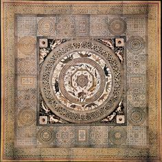 A Roman mosaic floor, not unlike the one Kendall protects.