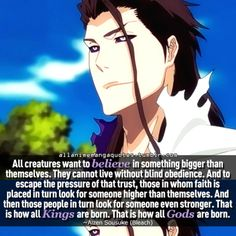 The source of Anime & Manga quotes Anime Qoutes, Manga Quotes, Bleach Manga, Bleach Quotes, Aizen Sosuke, Body Image Quotes, Dope Quotes, Character Quotes, Cool Animations