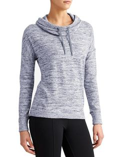 Blissful Cowl Hoodie - The Techie Sweat hoodie with rib-knit sleeves sure to be the go-to coverup for hoodie lovers everywhere.