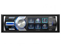"""DVD Automotivo JVC KD-AV500DT Tela 3"""" - com Entrada USB e Auxiliar Frontal e TV Digital"""