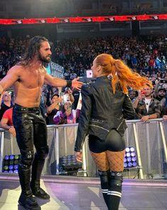 Wwe Seth Rollins, Seth Freakin Rollins, Becky Lynch, Becky Wwe, Wwe Funny, Wwe Couples, Rebecca Quin, Kicker, Wwe Female Wrestlers