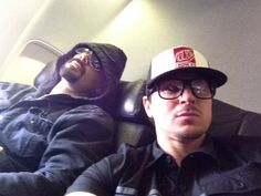 Zak Bagans and Aaron Goodwin