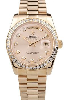 Rolex Day-Date 18k Yellow Gold Plated Stainless Steel Gold Dial Mens Watches Style Accessories Luxury Watches Brands Unique Watches Fashion Designer Watches Fashion