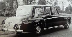 1977 High-roofed Oil Barrel Limousine by Mulliner Park Ward (chassis for H. Posh Cars, Limousine Car, Classic Rolls Royce, Oil Barrel, Rolls Royce Cars, Rolls Royce Phantom, Dream Machine, Queen Elizabeth, Concept Cars