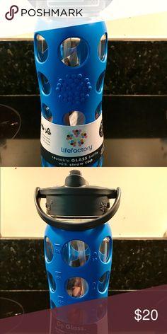 I just added this listing on Poshmark: Life Factory water bottle. #shopmycloset #poshmark #fashion #shopping #style #forsale #lifefactory #Other