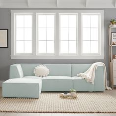 Riley Lounge Collection, Corner Chair, Performance Everyday Velvet Light Pool, IDS - blue - Furniture - Sofas + Sectionals - Pottery Barn Teen Pottery Barn Sofa, Pottery Barn Teen, Blue Pottery, Sleeper Sofa, Sectional Sofa, Couches, Hangout Room, Teen Hangout, Lounge Seating
