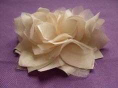 I can do this! How to make fablous fabric flowers for sashs, headbands etc.  DIY