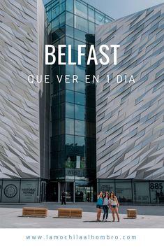 Itinerario de lugares que ver en Belfast, Irlanda del Norte. Viaja a esta ciudad y sácale el máximo de provecho a tu tiempo. Consejos de dónde hospedarte, qué comer y transporte.  #Belfast #Irlandadelnorte #Europa #viajar #turismo Travel Blog, Europe, Frases, Edinburgh, Memorial Gardens, Ireland Travel, Travel
