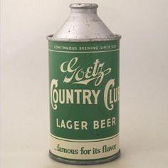 Le prime lattine di birra//first beer cans