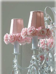 I have a white Chandler I don't know what to do with! This would be do cute for my little princess's room