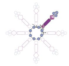 Snowflake ball ornament f 1