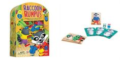 Love this Raccoon Rumpus Game on Old Games, Games For Kids, Quick Thinking, Preschool Games, Matching Games, Fine Motor Skills, Surf Shop, Baby Clothes Shops, Cool Toys