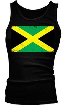 137ddb6936921c Jamaican Flag Girls   Juniors Tank Top T-shirt (Medium