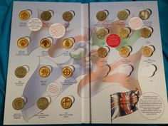 Steve Ashton ‏@SteveGSI  @RoyalMintUK @barnz1991 #coinhunt just got my £1 book today and put these in!