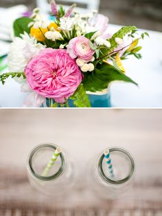 colourful wedding flowers http://www.thephotographycollection.com/