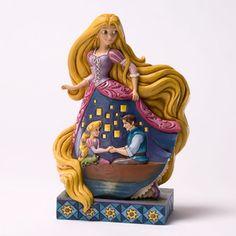 Enesco Disney Traditions Jim Shore Tangled Rapunzel Royal Gown Figurine