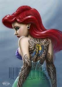 tattooed mermaid - Google-haku