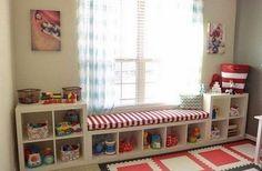 Хранение игрушек: идеи для детской комнаты
