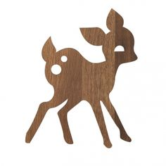 Ferm Living's My Deer wall lamp is designed by Anne Wendlandt. The My Deer wall lamp by Danish Ferm Living creates pleasant ambience to any kids' room. Firm Living, Deer Lamp, Wooden Wall Lights, Wood Wall, Casa Kids, Kids Lamps, Kids Lighting, Nursery Lighting, Modern Kids
