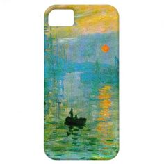 Monet Impressionism Sunrise iPhone Case iPhone 5 Cases
