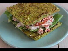 """Recept """"Gezond smoske met broccolibrood en tonijnsalade""""   njam!"""