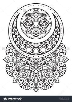 Flower Mandala. Vintage decorative elements. Oriental pattern, vector illustration. Islam, Arabic, Indian, turkish, pakistan, chinese, ottoman motifs