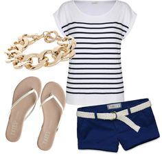 Navy/White - cute for summer