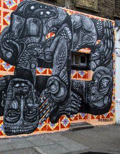 Street art | Mural by Zio Ziegler