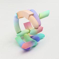 3D Bracelets by Maiko Gubler | Itfashion.com