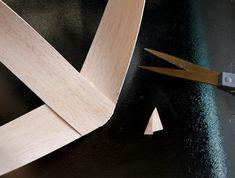diy project: scandinavian-inspired wooden heart