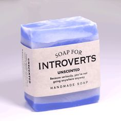 Soap for Introverts - BEST SELLER!