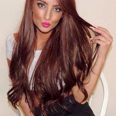 Chocolate brown hair ♥