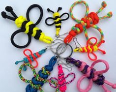Geobuddy Paracord Key Chain Geocaching Swag by CoolGeocachingSwag