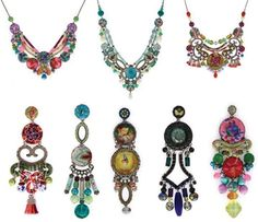 Ayala Bar jewelry...vibrant, beautiful use of color and whimsy. One of my favorite jewelry designers.