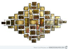 Modern and Contemporary Abstract Metal Wall Art Sculpture