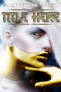 Gilded | Sci Fi Book Cover | Premade Book Covers