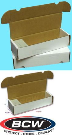 6b4e071bad4 Card Storage Boxes 183440  50 Bcw 660 Count Cardboard Card Storage Boxes  Trading Sport Holder