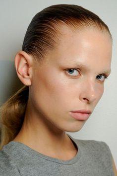 Alexander Wang Spring 2015 Ready-to-Wear Make up Photo: Michele Morosi / Indigitalimages.com
