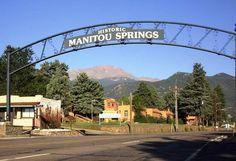 Manitou Springs, Colorado - Photos, Hikes and Things To Do Manitou Springs Incline, Manitou Springs Colorado, Colorado Springs Restaurants, Real Castles, Colorado City, Colorado Homes, Rainbow Falls, Pikes Peak, Things To Do
