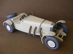 AROUTCHEFF VILAC Mercedes SSKL 1921  jouet bois 1990
