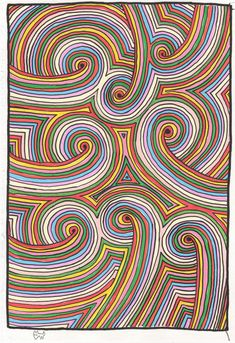 Mister Wolf - Surreal Designs for the Deranged - Ultra Rainbow Spirals Mister Wolf, Spirals, Surrealism, Kids Rugs, Rainbow, Prints, Design, Art, Rain Bow