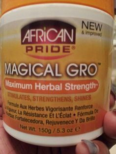 This stuff right here!!!! Is like growth steroids for hair!!!!! It really does work especially for those almost impossible areas.....Like edges!!!