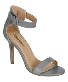 5da23c9a1423 Breckelle s Gray Sydney Sandal by Breckelle s  zulilyfinds Wedge Shoes