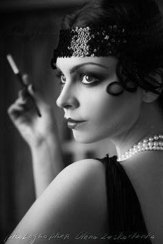 Flappers. In the 1920's they brought more liberation to women. They were rebellious because they chopped off all their hair, caked on the makeup, and engaged in casual sex. Flappers, although not the best role models, are so inspirational to me because they just did their own thing and didn't care about what other people thought.