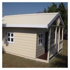 Hollyhocks Homestead Cubby House  XLarge painted